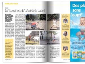 Street Tennis dans Métro Plages