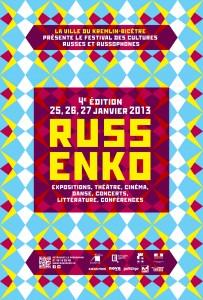 L'affiche du Festival RussenKo 2013