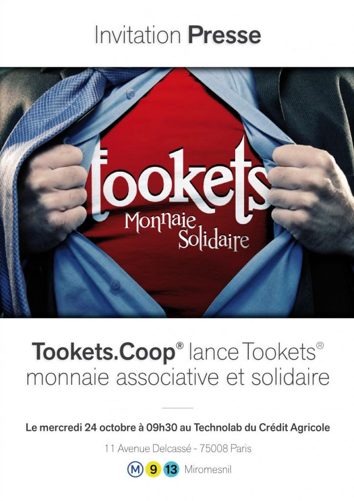 Lancement de Tookets monnaie associative et solidaire