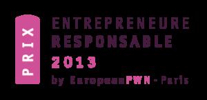 Prix Entrepreneure Responsable EPWN 2013
