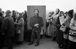 Photo d'Igor Moukhin - Procession religieuse, Moscou, 2005