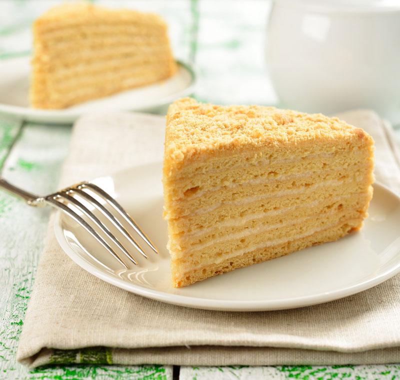 Un gâteau miel - Gastronomie russe - Festival RussenKo