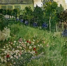 'Sur les pas de Van Gogh' - Le jardin de Daubigny - de Vincent van Gogh