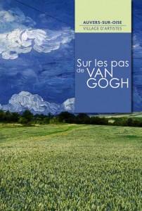 L'affiche de la saison culturelle 'Sur les pas de Van Gogh' à Auvers-sur-Oise