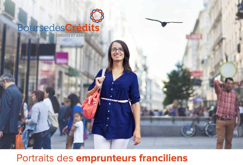 Etude Immobilier Bourse des Crédits : portraits des emprunteurs franciliens