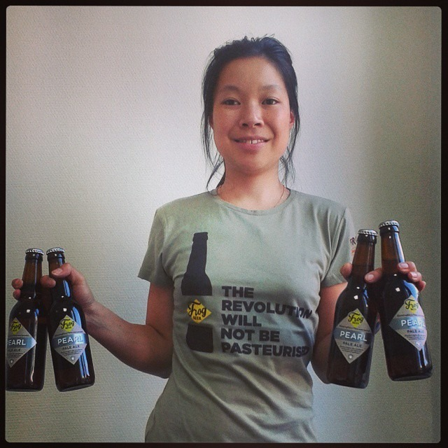 Eugénie Mai-The, brewery manager de FrogBeer - FrogPubs