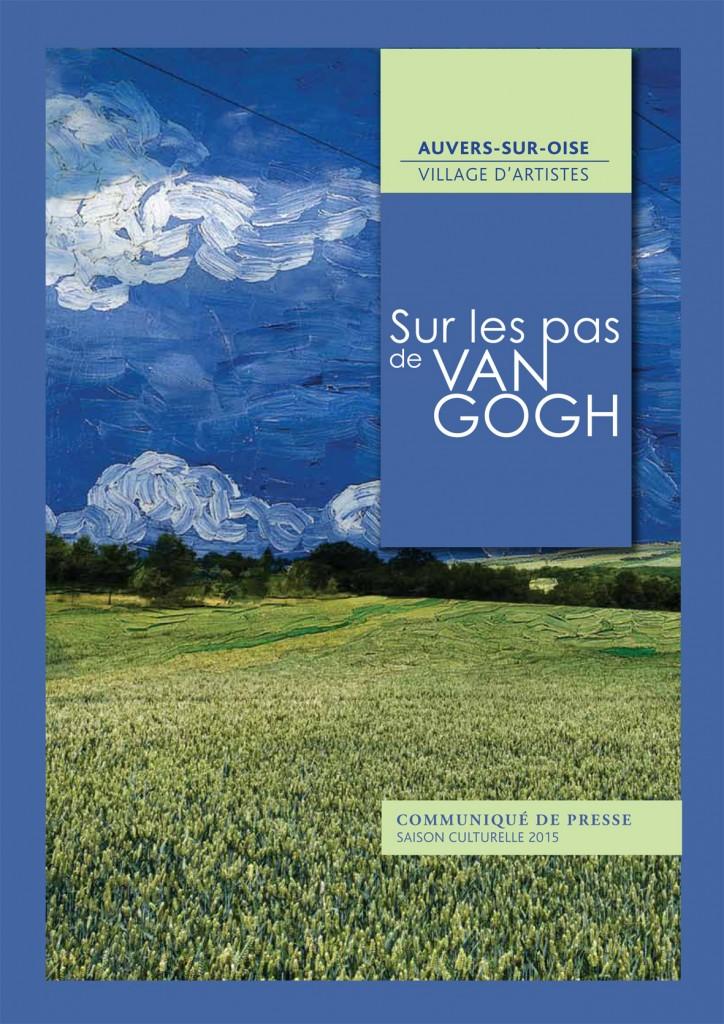 L'affiche de la saison culturelle Sur les pas de Van Gogh