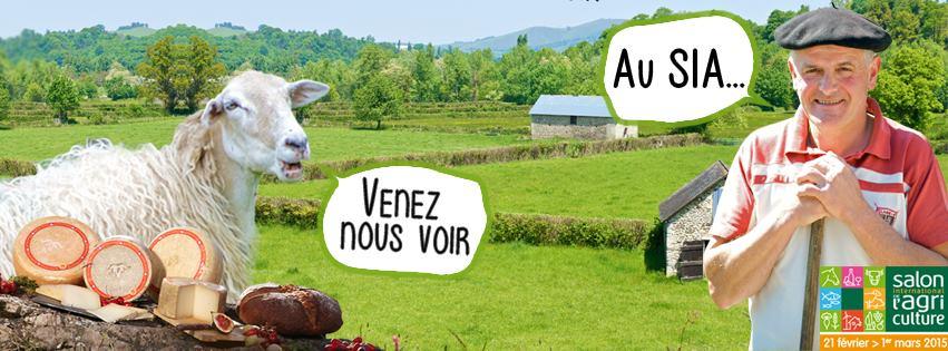 L'AOP Ossau-Iraty est au Salon de l'Agriculture 2015