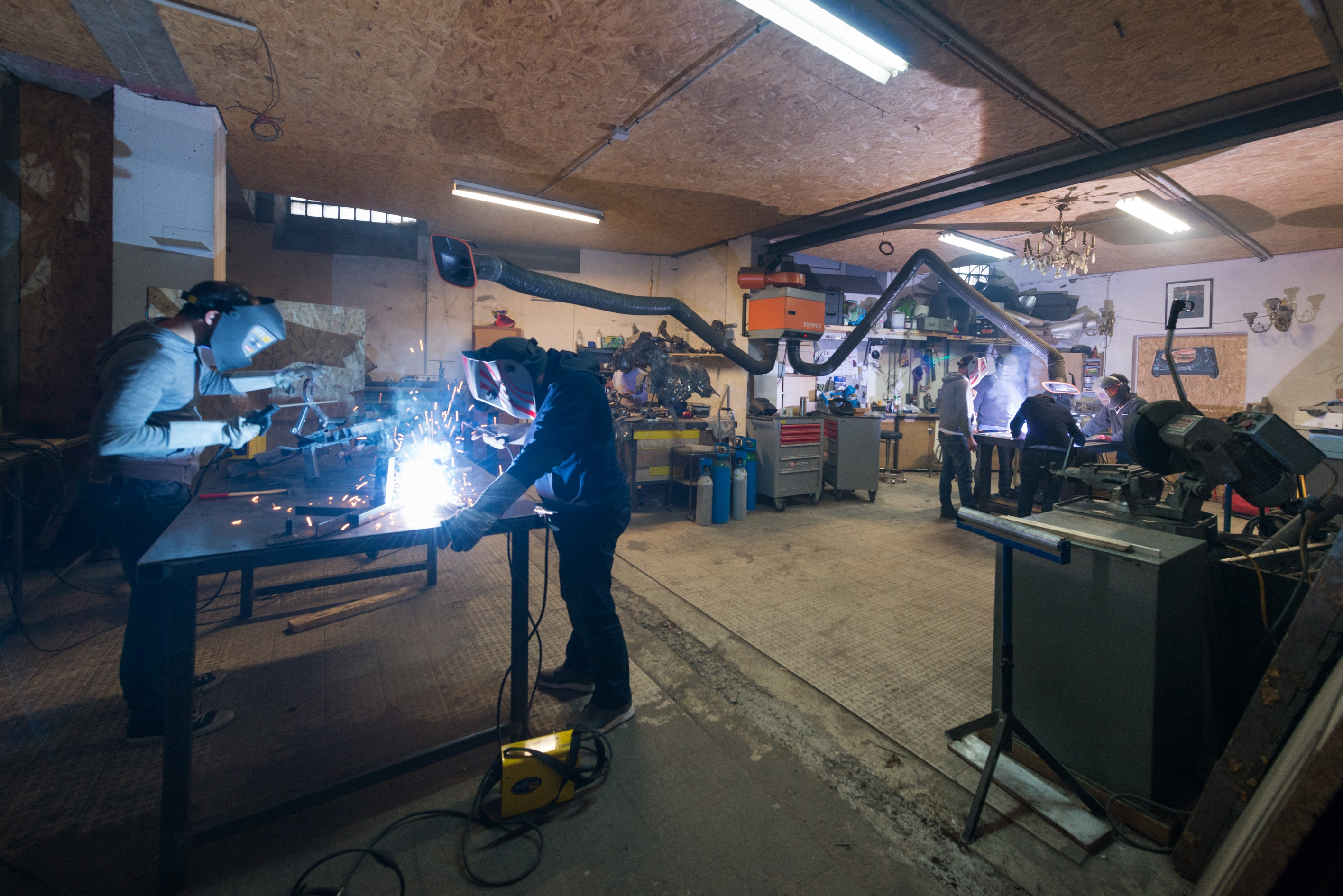 ICI Montreuil - l'atelier métal - @Julien Dominguez