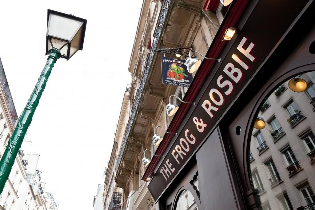 Le Frog & Rosbif d ela rus Saint-Denis, premier pub ouvert par FrogPubs en 1993