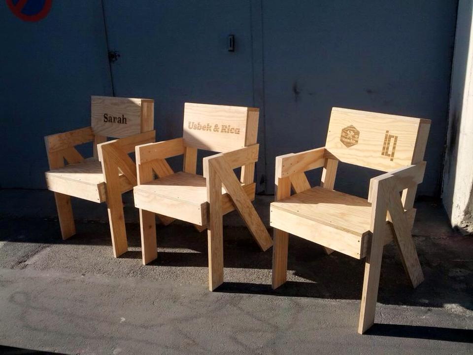La chaise Scala - à fabriquer soi-même chez ICI Montreuil grâce à la Makerbox
