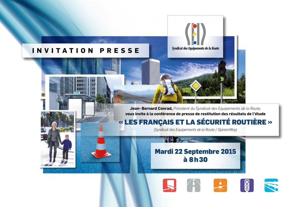 Les Français et la sécurité routière (Syndicat des Equipements de la Route / OpinionWay)