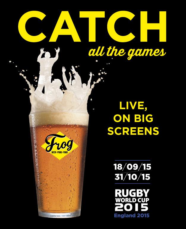 coupe du monde de rugby - FrogPubs