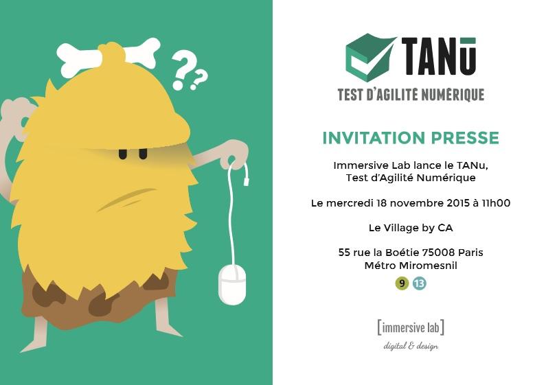 le TANu, premier teste d'agilité numérique