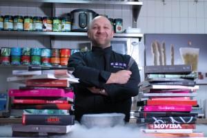Bruno Viala, chef de Rest'ICI, le restaurant d'ICI Montreuil - par Pierre Leblanc