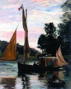 Le Botin - Charles-François Daubigny