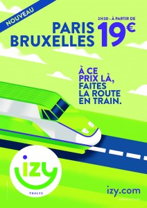 La campagne Izy de Thalys sur le réseau Next One