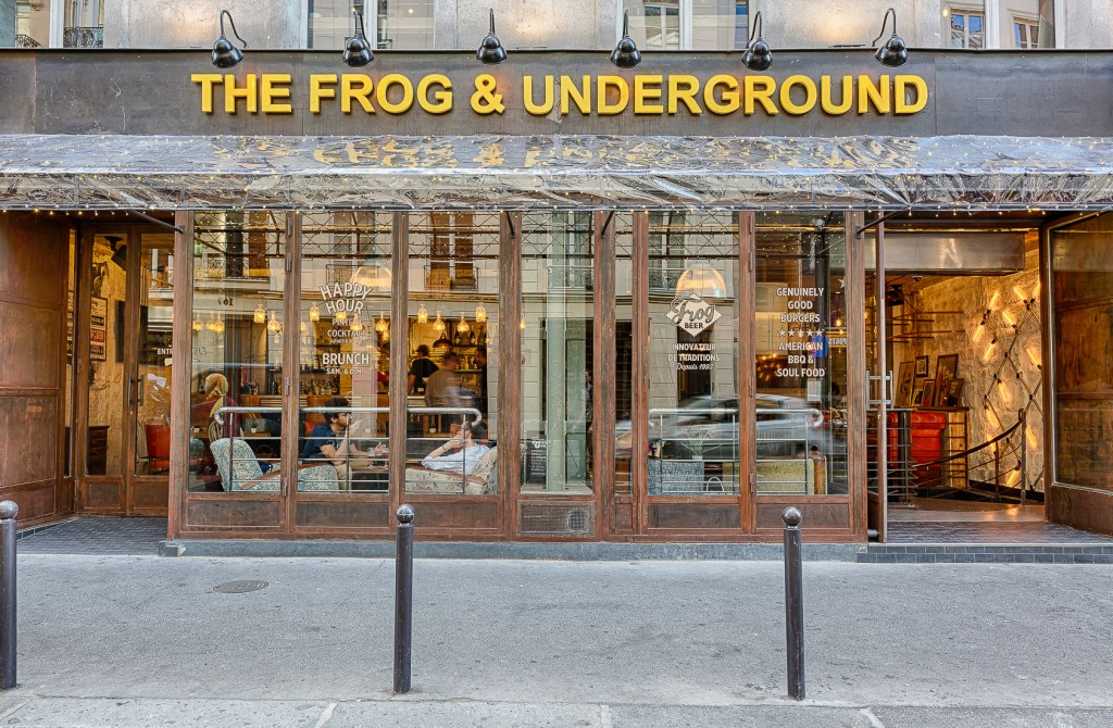 The Frog & Underground, 13ème adresse de FrogPubs en France