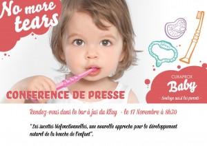 Curaprox Baby by Curapox : Le spécialiste suisse de l'hygiène bucco-dentaire lance la première marque de produits bucco-dentaires biofonctionnels au service des tout-petits.