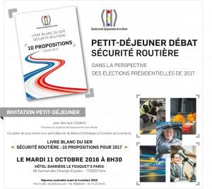 Livre blanc 'Sécurité routière : 10 propositions pour 2017'