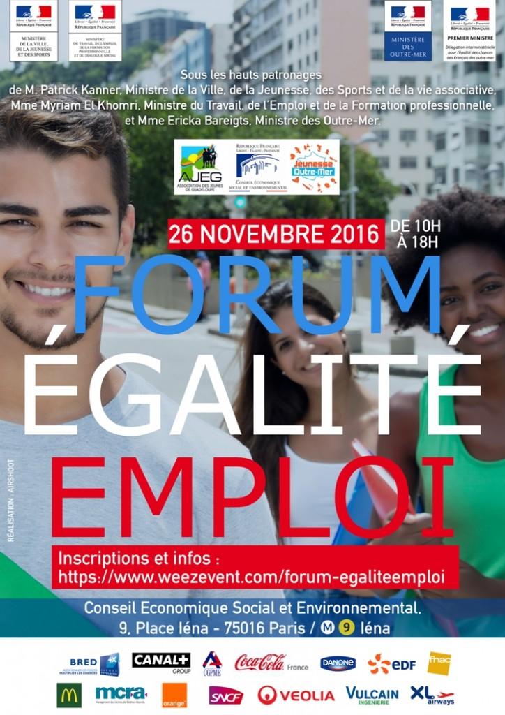 Forum Egalité Emploi