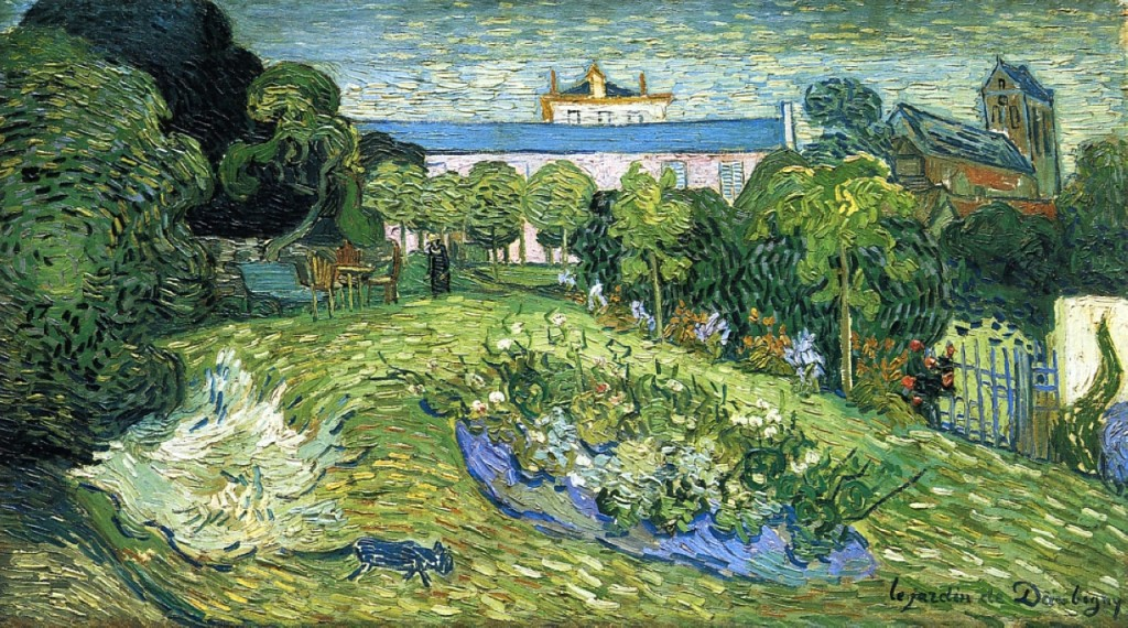 Auvers-VanGogh-TableauJardinDaubigny