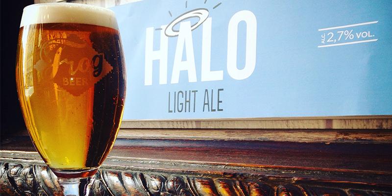 HALO LIGHT BEER, la plus légère des bières FrogBeer (2.7%)