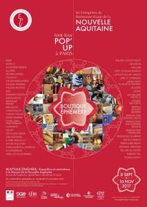 Marboré et 49 autres Entreprises du Patrimoine Vivant de la Nouvelle-Aquitaine font leur Pop-Up à Paris (du 8/09 au 10/11)