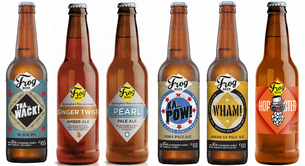 Après avoir glâné 9 médailles cet été à l'International Beer Challenge, aux World Beer Awards et au Mondial de la Bière, la brasserie FrogBeer vient de remporter le « prix de la meilleure bière brassée à Paris et environs » décerné par la communauté d'Expatriates in Paris.