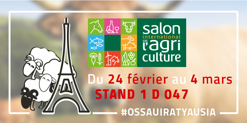 L'AOP Ossau-Iraty sur le Salon International de l'Agriculture 2018