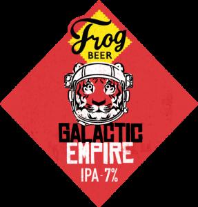 Galactic Empire IPA, nouvelle création de la brasserie artisanale FrogBeer