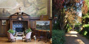 Auvers - La Maison-Atelier de Daubigny, L'Atelier, côté cheminée (crédit :ColombeClier-MCC) - La Maison-Atelier d'Emile Boggio (crédit : Xavier Boggio)