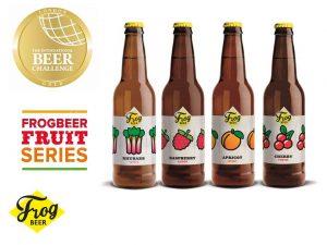 FrogBeer - La Fruit Beer Series primée à l'International Beer Challenge 2018