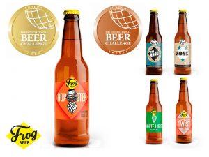 FrogBeer - Les médailles glânées à l'International Beer Challenge 2018