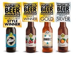 FrogBeer - les médailles glânées aux World Beer Awards 2018