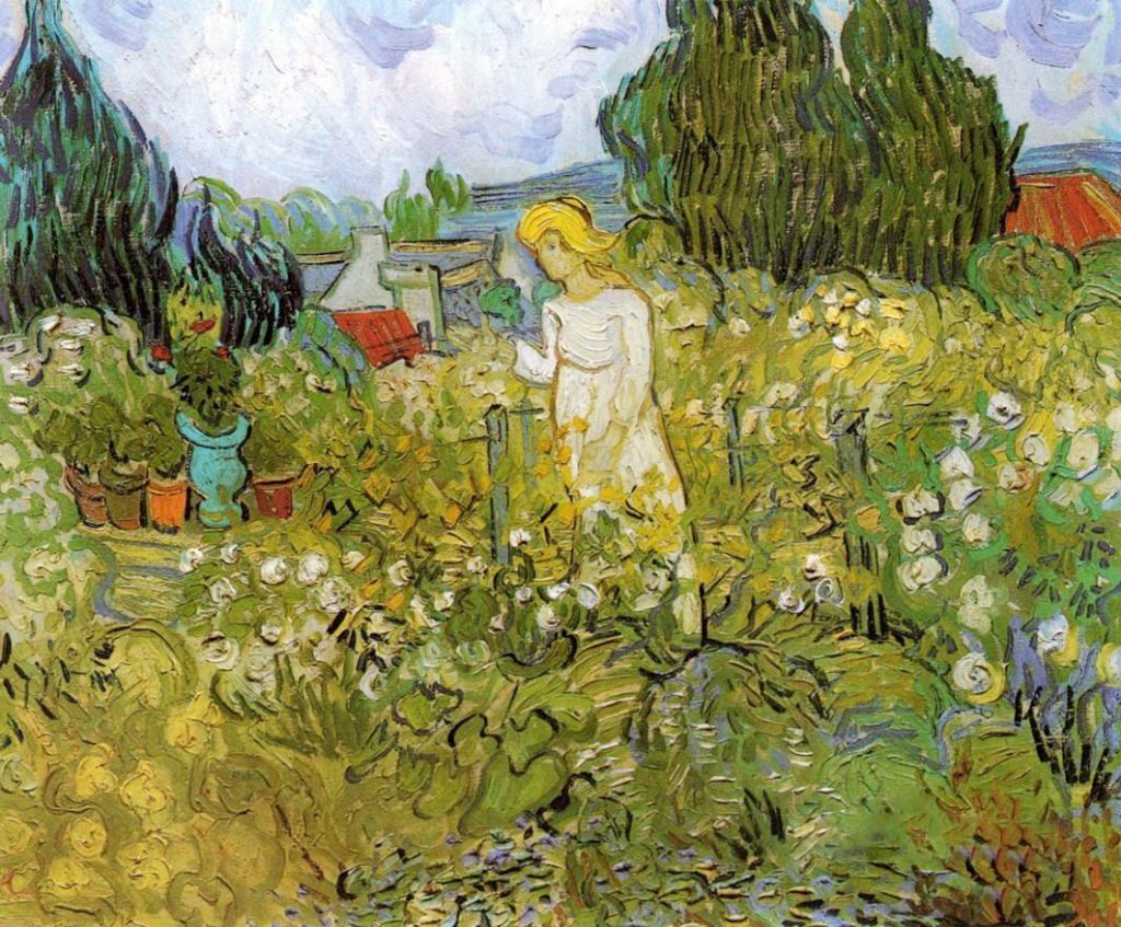 Mademoiselle Gachet dans son jardin, Vincent van Gogh