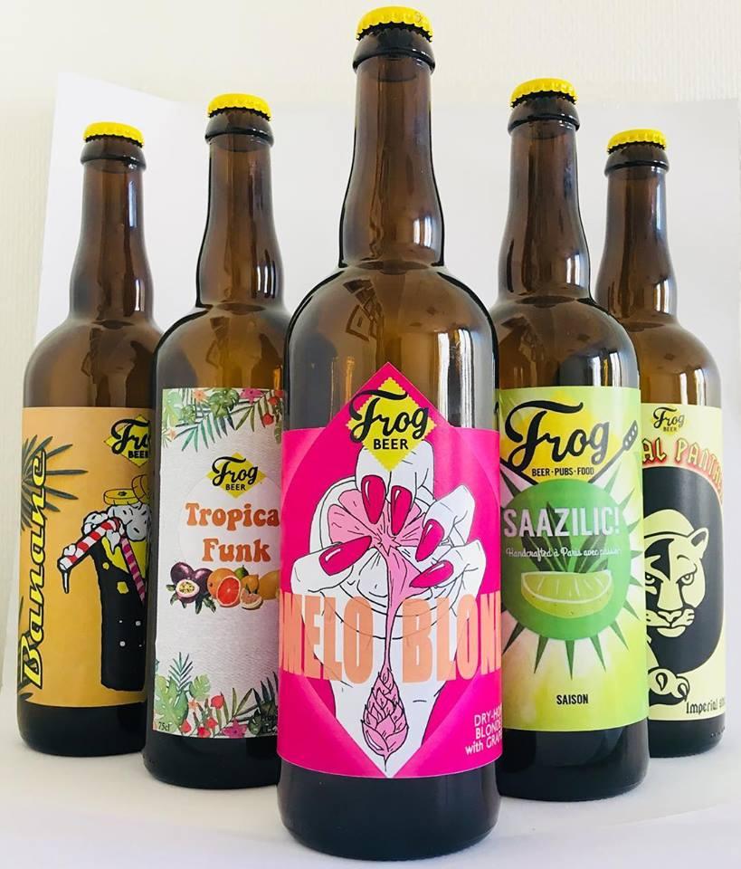 Résultats de la Battle of the Brewers de FrogBeer : les 5 nouvelles bières créées par ses brasseurs