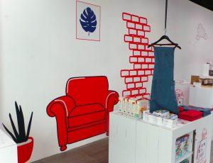 """La boutique éphémère """"Comme un air de vacances"""" - Le Fundy Tour au Centre Commercial Valserine"""