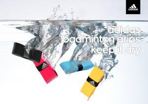 La gamme adidas badminton