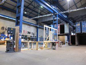 ICI Marseille - montage atelier bois