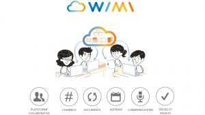 Wimi est l'acteur français leader sur le marché des solutions numériques collaboratives intégrées