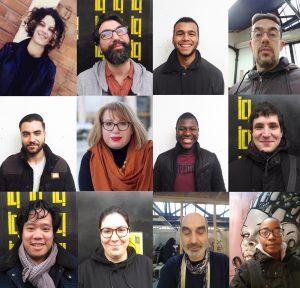 Les apprentis de la formation Creative Technologist chez ICI Montreuil