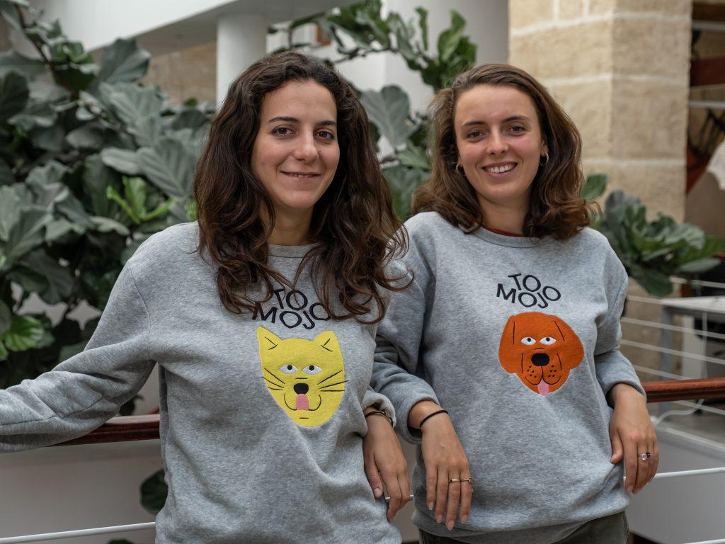 Paola Teulières et Madeleine Morley, fondatrices de la startup Tomojo