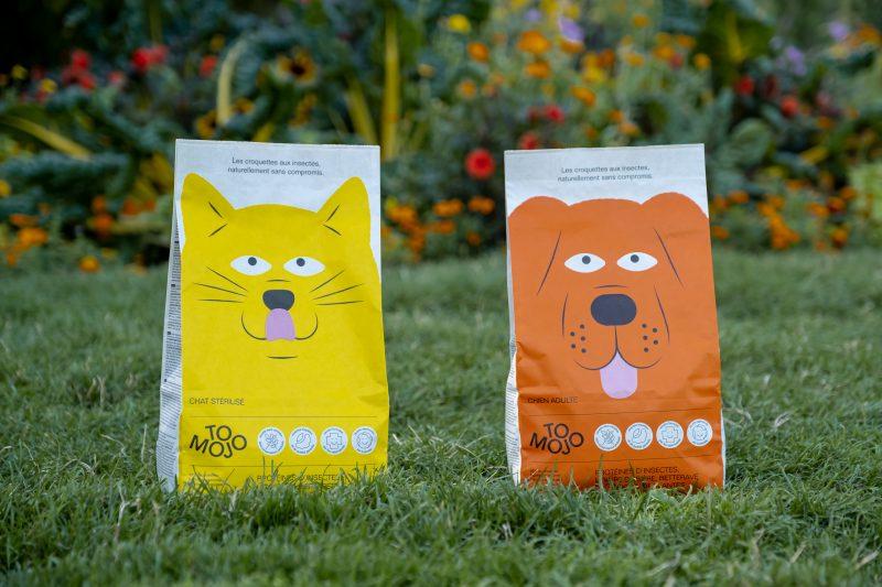 les croquettes et friandises écologiques aux insectes pour chiens et chats Tomojo