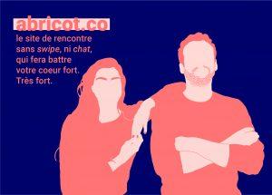 Abricot, la seule app de dating qui promet la rencontre. Crédit illustration : Clémence Paillieux