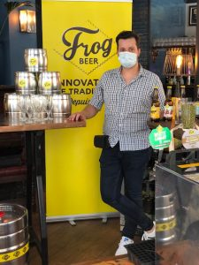 Le bar, pub et micro-brasserie The Frog & Rosbif Paris