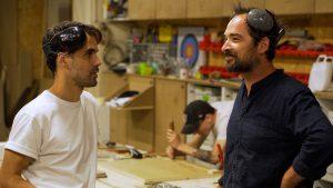 Eric Perez et Julien Arnaud, Boys in th Wood, artisans-résidents chez ICI Montreuil