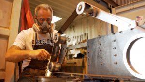 Jean-Pierre Ambrosino, Coutellerie du Panier - artisan résident chez ICI Marseille
