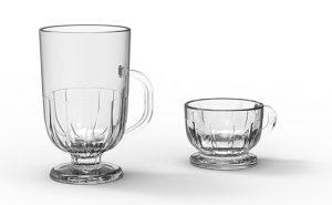 Design : La Racine conçoit une collection 'Flore' de mug et tasse pour La Rochère