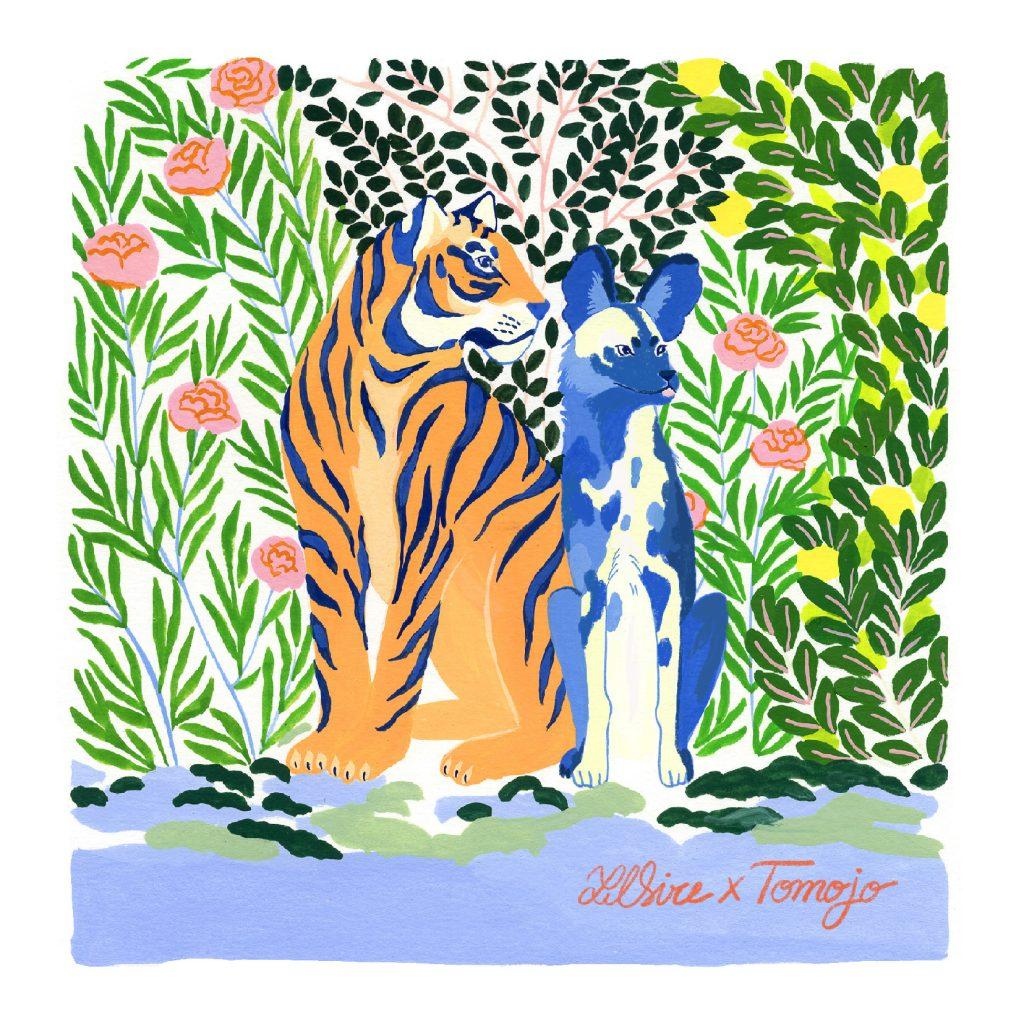 Illustration de Lilsire pour Tomojo